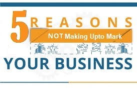 Reasons your business is not making upto the Mark