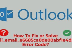 Outlook Error fix