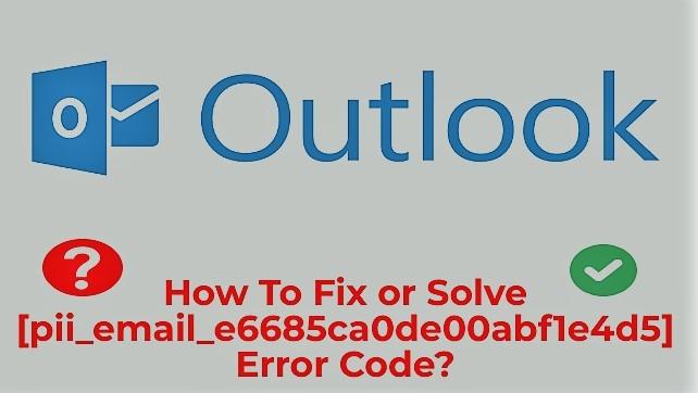 Outlook Error fix