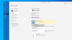 Different Microsoft outlook Version to fix error