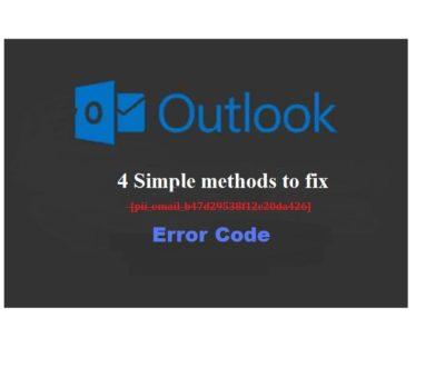 [pii_email_b47d29538f12c20da426] error code